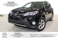 2015 Toyota RAV4 XLE AWD SEULEMENT UN PROPRIO + DEMARREUR A DISTANCE