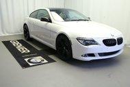 BMW 650i Seulement 49700KM 2009