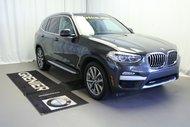 BMW X3 30i Groupe Premium Essentiel et X Line 2018