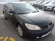 Honda Civic LX/AUTOMATIQUE/VENDU TEL QUEL 2004