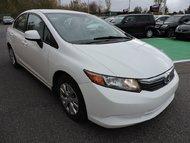 Honda Civic LX, AIR CLIM/ SYSTEME ECON 2012