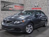 Honda Civic LX*JAMAIS ACCIDENTE* 2013