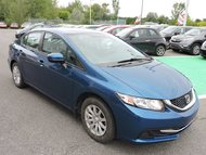 Honda Civic LX/MANUELLE/AIR CLIMATISE 2014