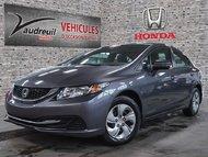 Honda Civic LX*52$/SEM*TAXES INCLUSES* 2014
