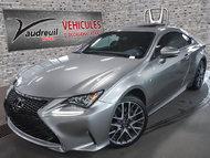 Lexus RC RC 300 W/F-SPORT PKG*GPS*INT ROUGE* 2016