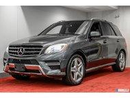 2014 Mercedes-Benz M-Class ML350 4MATIC DIESEL **11 000$ D'OPTION**