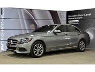 2015 Mercedes-Benz C300 4matic Sedan D.E.L Actifs, Surveillance Angle Mort