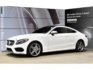 2017 Mercedes-Benz C300 4matic Coupe DEL, Camera de Recul, Navigation, Com
