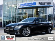 2016 Infiniti Q50 Red Sport 400  - Low Mileage