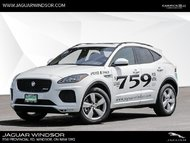 2018 Jaguar E-PACE - Heated Seats - SiriusXM - $413 B/W