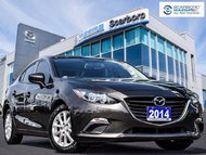 2014  Mazda3 GX 1 OWNER NO ACCIDENT