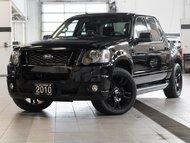2010 Ford Explorer Sport Trac Adrenalin 4D Utility 4WD