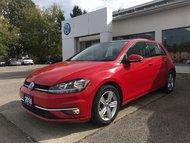 2018 Volkswagen Golf 1.8 TSI Comfortline