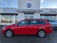 2014 Volkswagen GOLF SPORTWAGEN 2.0 TDI Wolfsburg Edition WITH WARRANTY