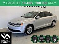 Volkswagen Jetta CONFORTLINE HYBRID ** GARANTIE 10 ANS ** 2013