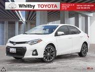 2015 Toyota Corolla SPORT UPGRADE
