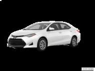 2019 Toyota COROLLA LE CVT WITH BOOKS