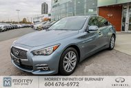 2016 Infiniti Q50 3.0T AWD Premium Pkg No Accident Claim Low KM!