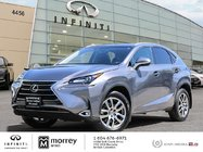 2015 Lexus NX 200t PREMIUM LEATHER SUNROOF LOW KMS!