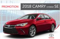 2018 Camry Hybrid XLE