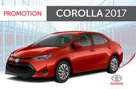 Corolla SE CVT 2017 avec XSE