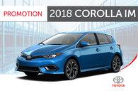 Toyota 2018 Corolla iM 6M