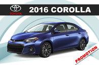 2016 Corolla CE