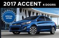 2017 Accent 4 Door SE Auto