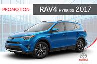 RAV4 Hybride LE + 2017