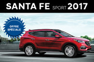 Santa Fe Sport 2.4L à traction avant 2017 et Santa Fe Sport 2.0T Ultimate