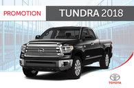 Tundra 4X4 Crewmax<br>2018 avec Groupe TRD Sport
