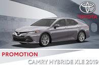 Camry hybride XLE 2019