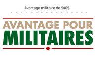 Avantage pour Militaires