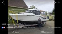 Jeanneau NC 795 Legend  Remorque et moteur Mercury 200hp inclus 2018