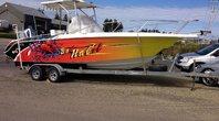 Wellcraft Fisherman 238  Moteur hors bord Honda  250 HP 1995
