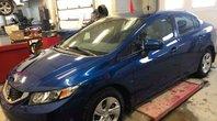 Honda Civic Sedan LX BAS KILOS-DÉMARREUR À DISTANCE HONDA-GARANTIE PROLONGÉE 2015