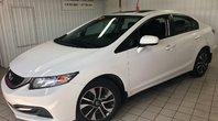 Honda Civic Sedan EX**TOIT OUVRANT-SIÈGES CHAUFFANTS-DEUX CAMÉRAS**  2015