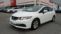 Honda Civic Sedan LX **FINANCEMENT À PARTIR DE 1.99%** PREMIER VÉHICULE PARFAIT, FORTE VALEUR DE REVENTE ET BELLE ÉCONOMIE D'ESSENCE 2014