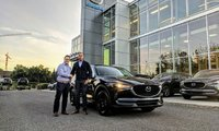 Congratulation to Justin Bissonnette for his new CX-5 !