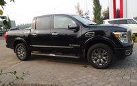 2017 Nissan Titan Platinum Reserve, Leather, Nav, Sunroof, Clean