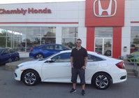 Merci À Cory et Chambly Honda