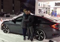 Merci à Dounia et à Chambly Honda!!