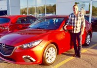 WOW! Bravo Monsieur Martell pour votre Mazda 3 2014 !!!!
