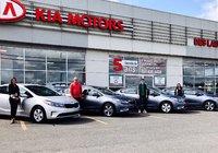 Une famille, 4 Kia Forte 2018 ,la meilleure expérience client, c'est chez Kia des Laurentides!!