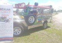 Jeepney ni Vickar at Tyndall Park Canada Day celebration