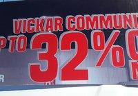 Save up to 32% OFF only here at Vickar Community Chevrolet