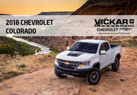YOUR 2018 COLORADO IS WAITING FOR YOU AT VICKAR COMMUNITY CHEVROLET