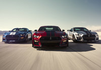 New Ford Mustang Shelby GT500 unveiled in Detroit