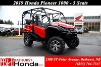 2019 Honda Pioneer 1000 5 seats