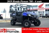 2019 Honda Pioneer 700 Deluxe - 4 Seats